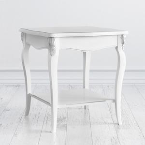 Столик квадратный Silvery Rome