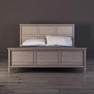 Кровать 180*200 Riverdi, светлый дуб, с изножьем