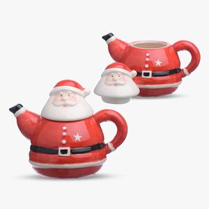 Чайник Дед-Мороз (Керамика)