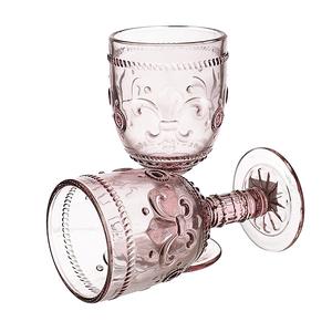 Бокал для вина Дикая Розовая Лилия 300 ml (набор 6шт)