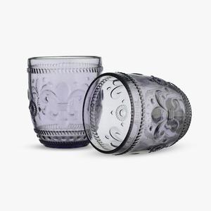 Стакан для Воды Дикая Фиолетовая Лилия 300 ml (набор 6 штук)