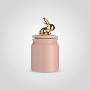Банка для Сыпучих Розовая