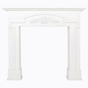 Каминный портал «Тюильри» (белый)