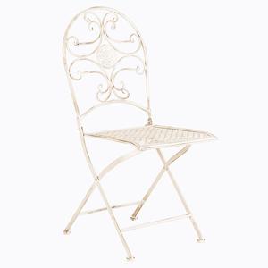 Складной стул «Берси» (белый антик)