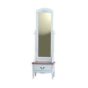 Зеркало напольное White Rose, итальянский орех