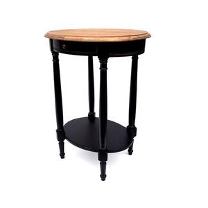 Стол кофейный овальный Marcel & Chateau, черный H835