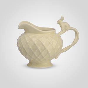 Молочник с кроликом фарфоровый Крем де ла крем