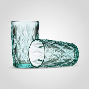 Стакан для воды/сока Бриллиант, бирюзовый (набор 6 шт)