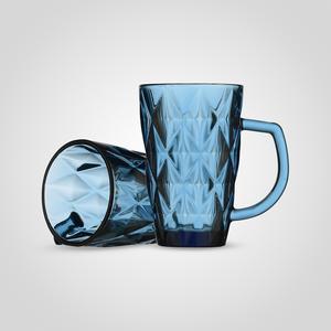Набор стеклянная кружек Бриллиант, Синий