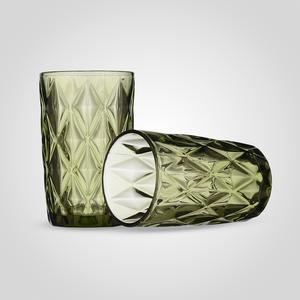 Стакан для воды/сока Бриллиант, зеленый (набор 6 шт)