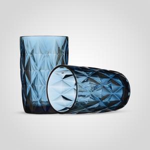 Стакан для воды/сока Бриллиант, синий (набор 6 шт)