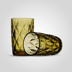 Стакан для воды/сока Бриллиант, желтый (набор 6 шт)
