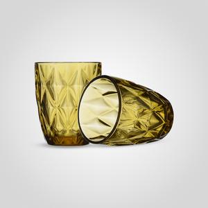 Стакан Бриллиант, желтый (набор 6 шт)