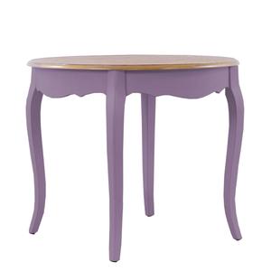 Круглый обеденный стол Leontina, лавандовый