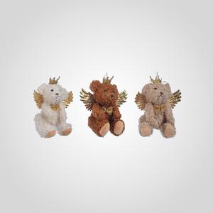 Подвески Мишки-Ангелочки (12 шт.)