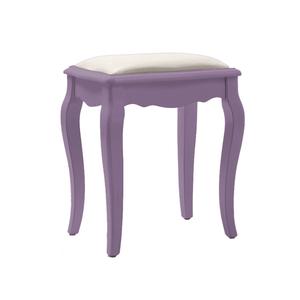 Табурет с мягким сиденьем Leontina, лавандовый