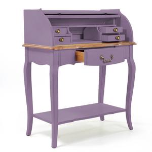 Стол бюро Leontina, лавандового цвета
