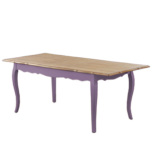 Стол обеденный Leontina раскладной, лавандовый