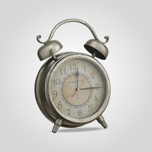 Часы-Будильник Металлические Серебряный Век