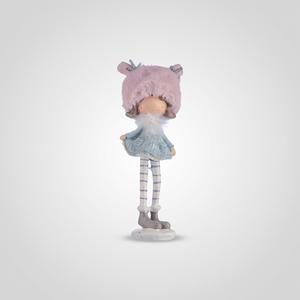 Девочка в Теплой Розовой Шапочке (Полистоун)