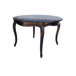 Стол обеденный круглый Noir&Blanc, черный DF877 (S01)