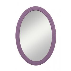 Овальное зеркало Leontina, лавандовое
