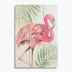 Панно настенное Pink flamingo