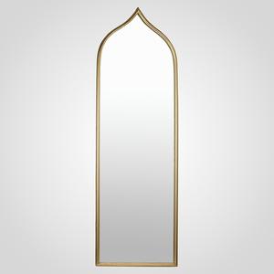 Зеркало Интерьерное Напольное Золотистое 150х50 (Металл)