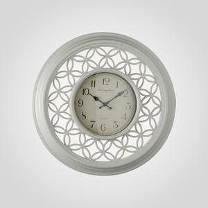 Часы Настенные Ажурные Белые (Полимер)