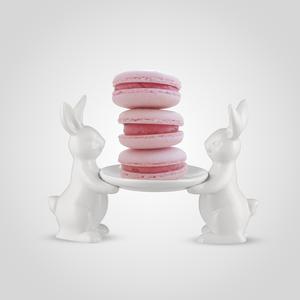 Бонбоньерка Керамическая с Кроликами