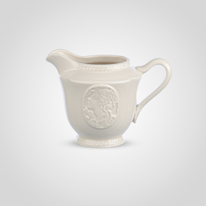 Молочник Фарфоровый Белый