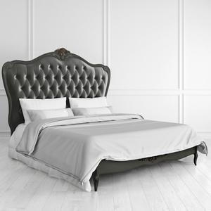 Кровать с мягким изголовьем 160*200 Nocturne со старением