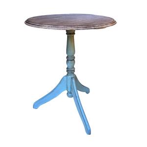 Стол кофейный Marcel & Chateau шато-светло бирюзовый Н828