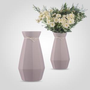 Ваза-Бутылка Керамическая Сиреневая