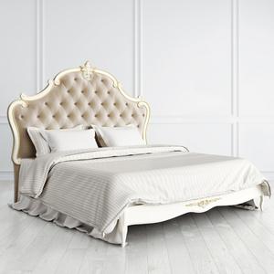 Кровать с каретной стяжкой 180*200 Romantic Gold
