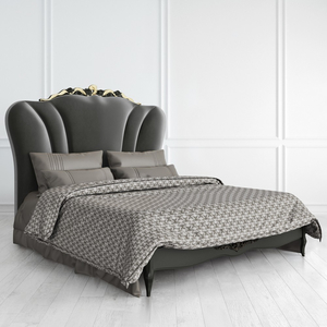 Кровать 160*200 Nocturne с золотой патиной