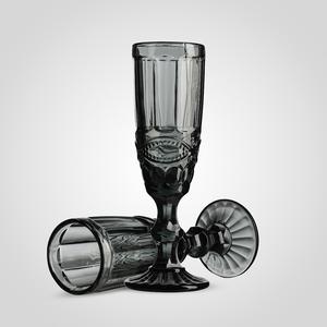 Бокал для Шампанского Стеклянный Серый