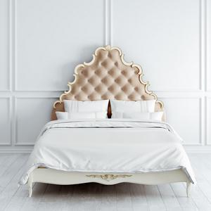 Кровать с мягким изголовьем 160*200 Atelier Gold