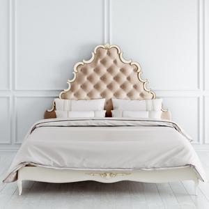 Кровать с мягким изголовьем 180*200 Atelier Gold