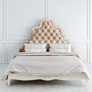 Кровать с зеркальным декором 180*200 Atelier Gold