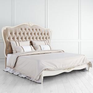 Кровать с мягким бежевым изголовьем 180*200 Atelier Gold