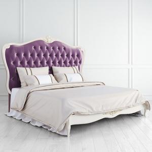 Кровать с мягким фиолетовым изголовьем Atelier Gold