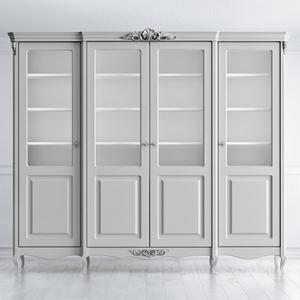 Шкаф для книг четырехдверный Atelier Home