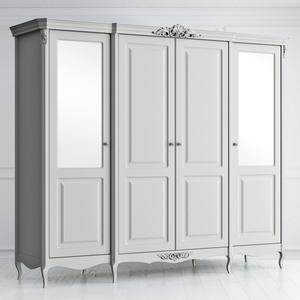 Шкаф четырехдверный с зеркалами Atelier Home