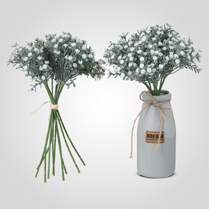 Искусственный Букет Полевых Белых Цветов 33 см.