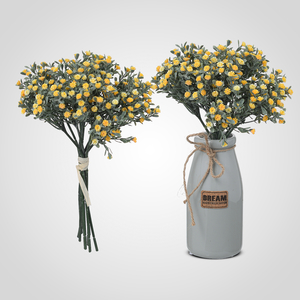 Искусственный Букет Полевых Желтых Цветов 33 см.