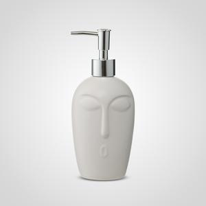 Белый Керамический Диспенсер-Лицо 20 см.