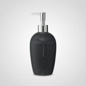 Черный Керамический Диспенсер-Лицо 20 см.