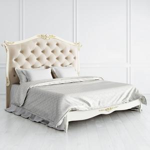 Кровать с мягким изголовьем и утяжкой 180*200 Atelier Gold