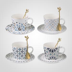 Чайный Набор Чашка с Блюдцем